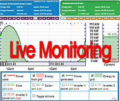 Click here to see live monitoring of this solar system's performance