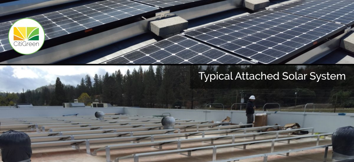 Should I Choose an Attached Solar System or a Ballasted System?